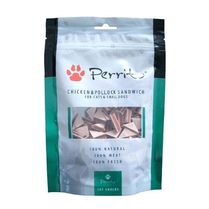 Przysmaki dla kota - Perrito Cat Chicken Pollock Sandwich 100g