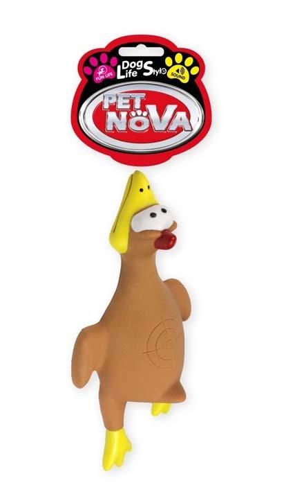 Zabawki - Pet Nova Kaczka gumowa Duck z dźwiękiem [rozmiar XL] 26cm