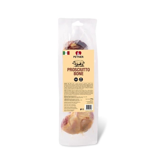 Przysmaki dla psa - Petner Kość z szynki Prosciutto 200g