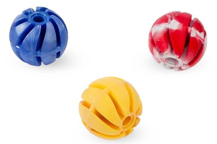 Zabawki - Sum Plast Piłka spiralna zapachowa z gumy