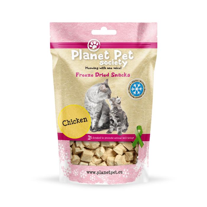Przysmaki dla kota - Planet Pet Liofilizowana pierś kurczaka przysmak dla kota 30g