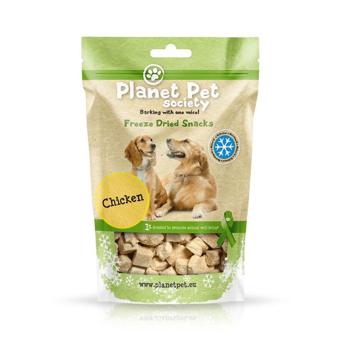 Przysmaki dla psa - Planet Pet Przysmak liofilizowany z kurczaka 30g