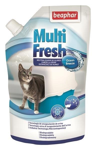 Kuwety, łopatki dla kota - Beaphar Multi Fresh - odświeżacz do kuwet 400g