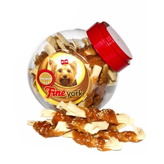 Przysmaki dla psa - Prozoo FineYork Ośmiorniczki z sezamem 400g