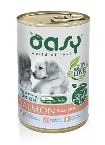 Karmy mokre dla psa - Oasy One Protein Puppy puszka 400g x 4