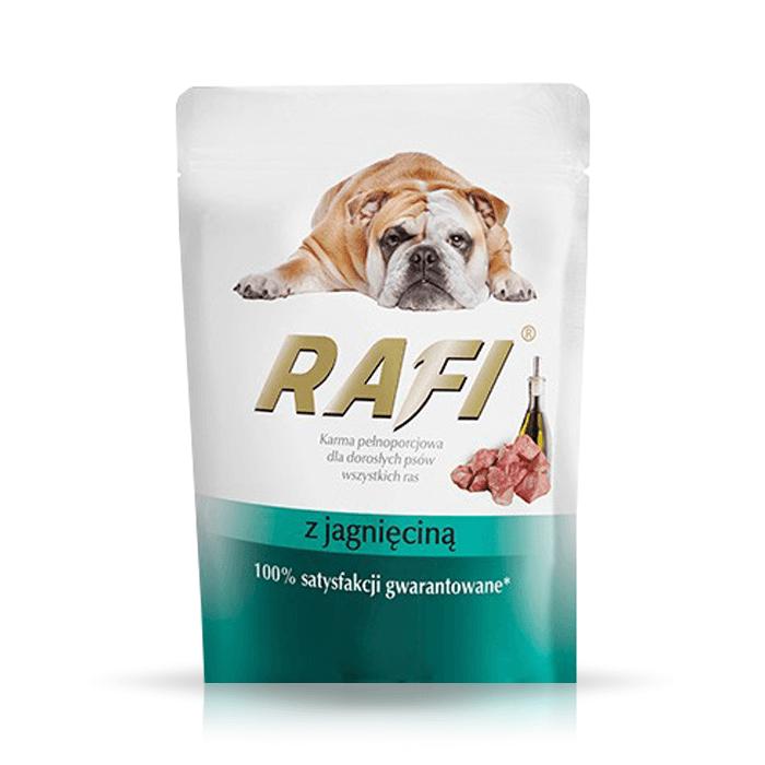 Karmy mokre dla psa - Rafi saszetka 4 x 300g