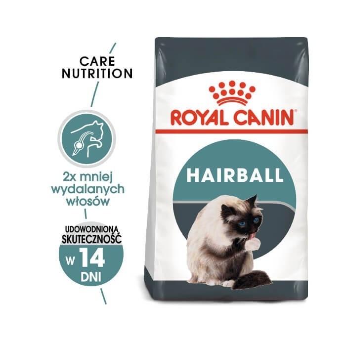 Karmy suche dla kota - Royal Canin Hairball Care FHN