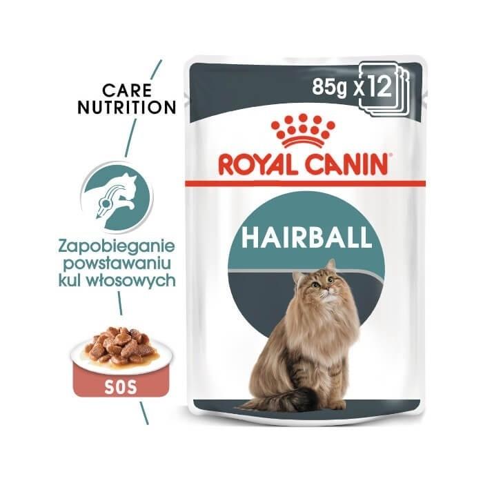 Karmy mokre dla kota - Royal Canin Feline Hairball Care FHN 85g