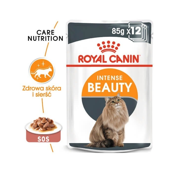 Karmy mokre dla kota - Royal Canin Intense Beauty Feline 85g