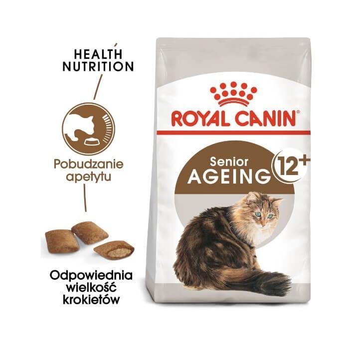 Karmy suche dla kota - Royal Canin Ageing +12