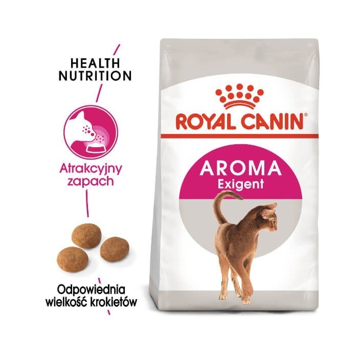Karmy suche dla kota - Royal Canin Exigent Aromatic Attraction 33 FHN