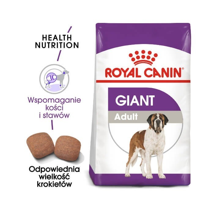Karmy suche dla psa - Royal Canin Giant Adult