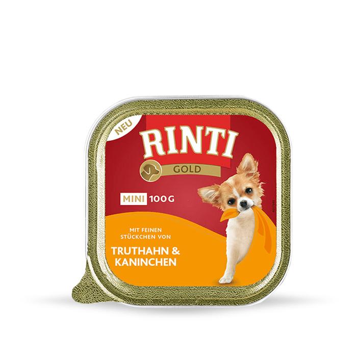 Karmy mokre dla psa - Rinti Gold Mini 12 x 100g