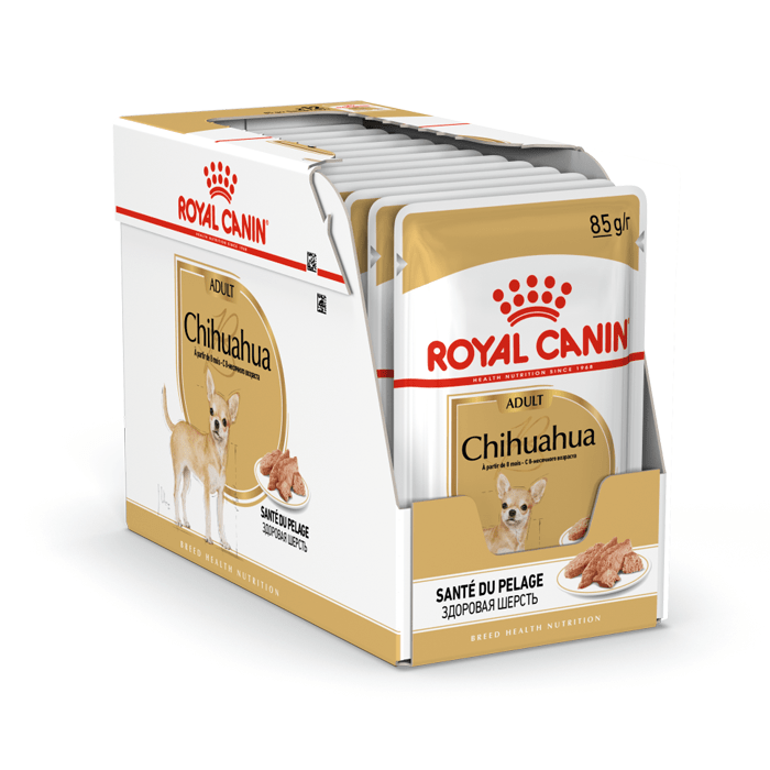Karmy mokre dla psa - Royal Canin Adult Chihuahua saszetka 12x85g