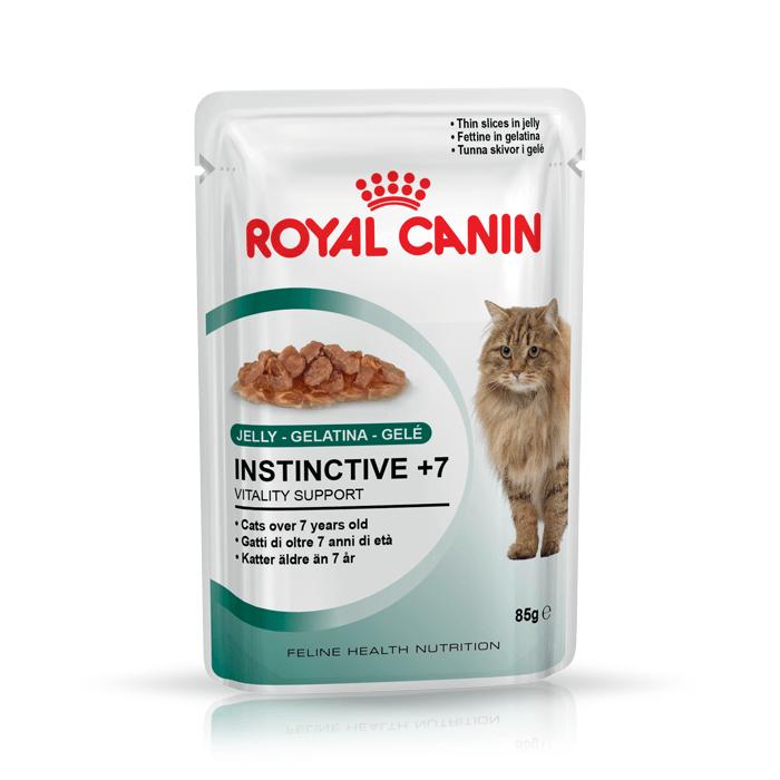 Karmy mokre dla kota - Royal Canin Instinctive +7 w galaretce 12x85g