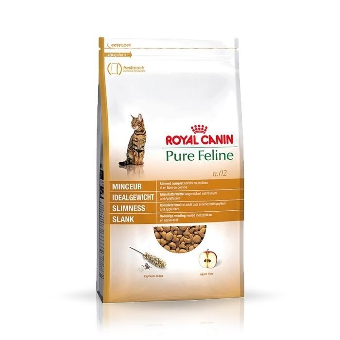 Karmy suche dla kota - Royal Canin Pure Feline No.2 Slimness