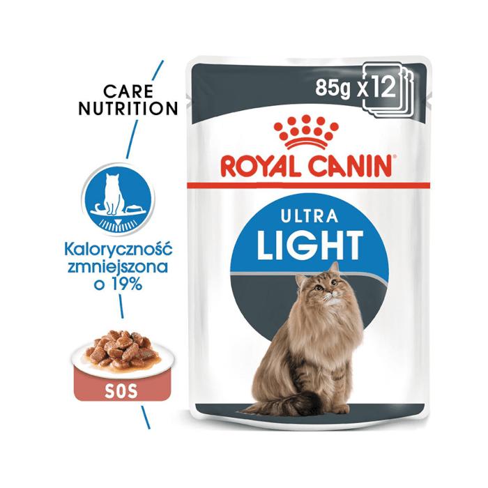 Karmy mokre dla kota - Royal Canin Ultra Light Feline 85g