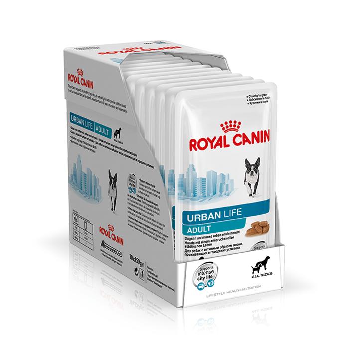 Karmy mokre dla psa - Royal Canin Urban Life Adult 10x150g