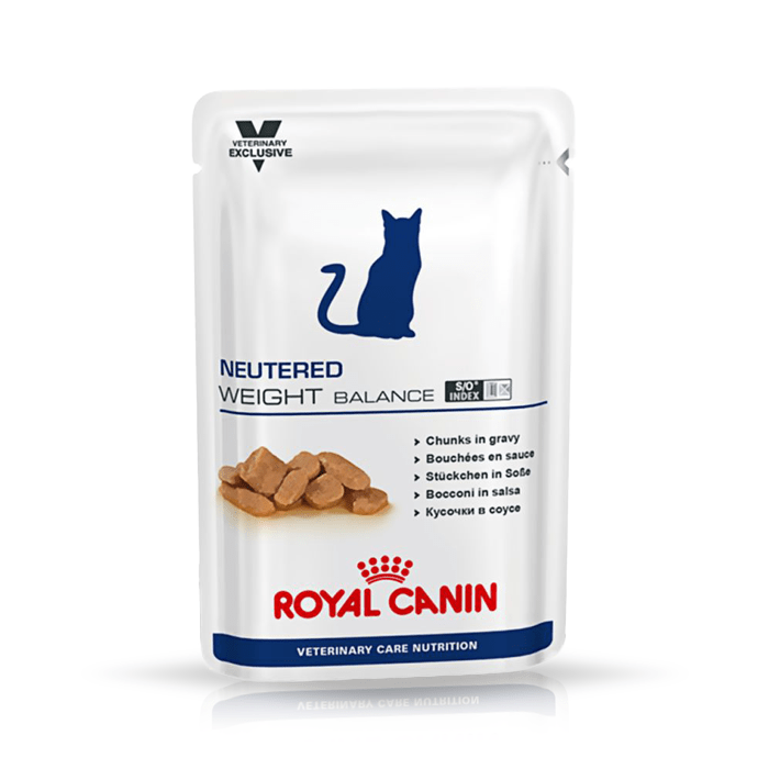 Karmy mokre dla kota - Royal Canin Veterinary Care Nutrition Feline Neutered Weight Balance 100g