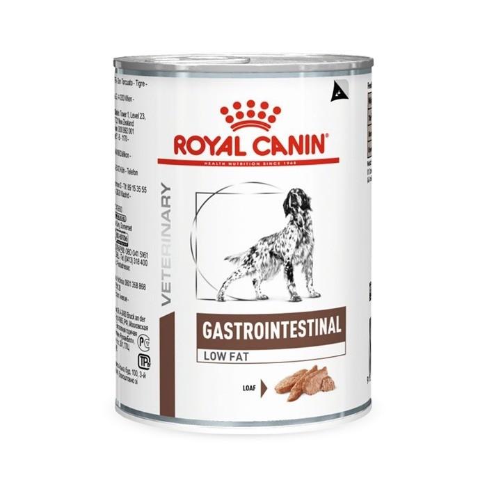 Karmy mokre dla psa - Royal Canin Veterinary Diet Canine Gastro Intestinal Low Fat 410g