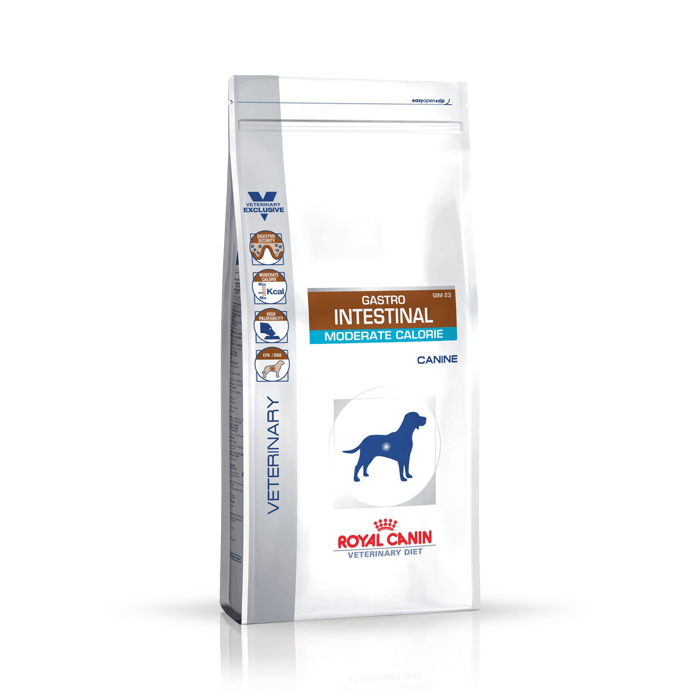 Karmy suche dla psa - Royal Canin Veterinary Diet Canine Gastro Intestinal Moderate Calorie GIM23