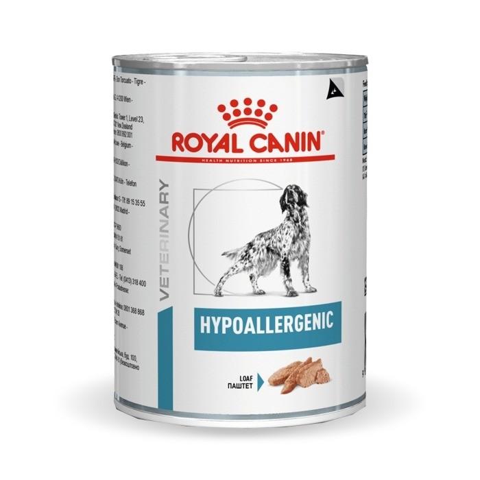 Karmy mokre dla psa - Royal Canin Veterinary Diet Canine Hypoallergenic 400g
