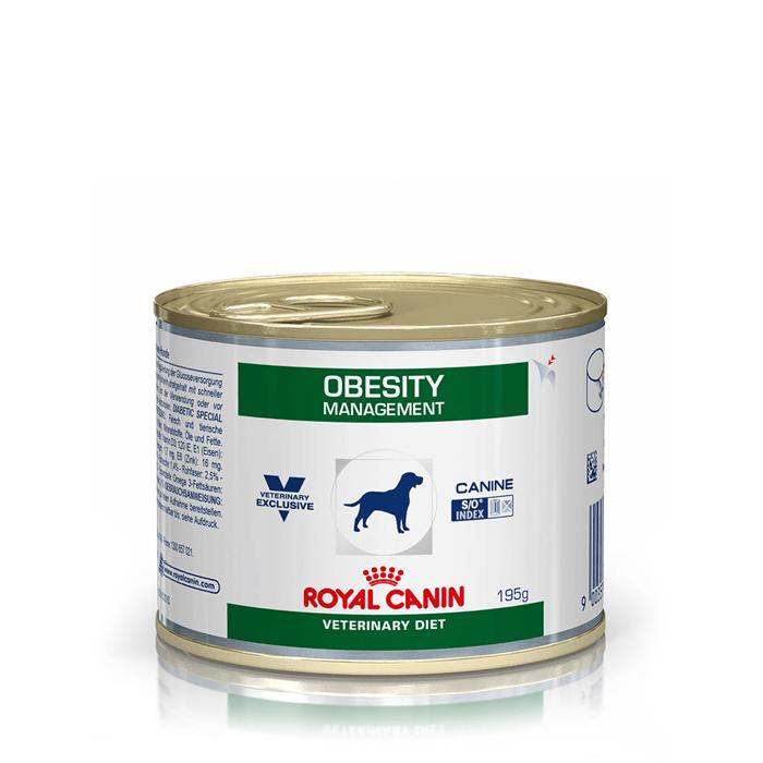 Karmy mokre dla psa - Royal Canin Veterinary Diet Canine Obesity Management 195g