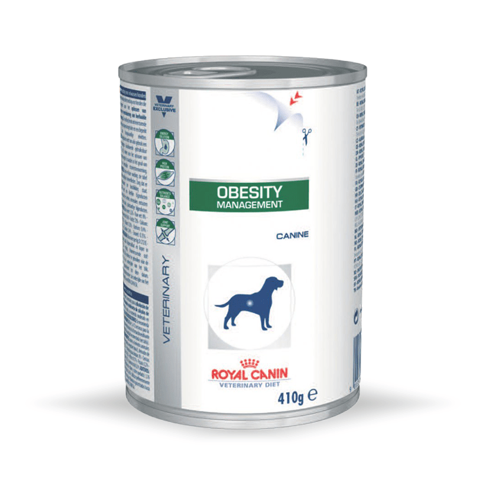 Karmy mokre dla psa - Royal Canin Veterinary Diet Canine Obesity Management 410g