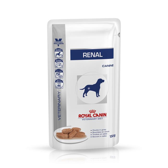 Karmy mokre dla psa - Royal Canin Veterinary Diet Canine Renal 150g