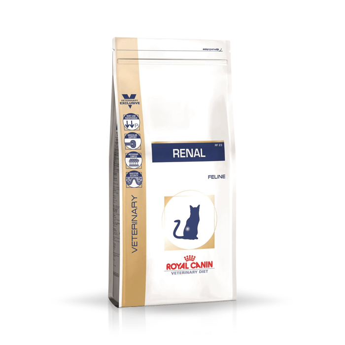 Karmy suche dla kota - Royal Canin Veterinary Diet Feline Renal RF23