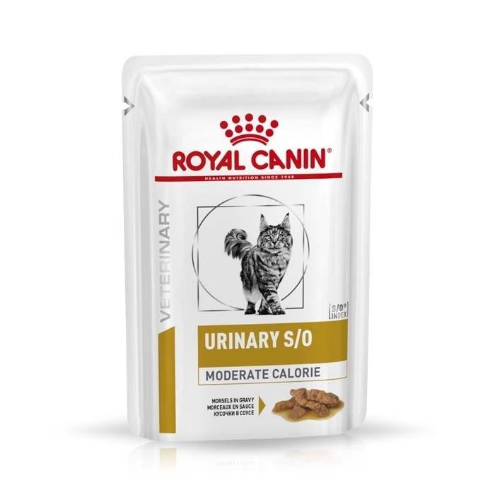 Karmy mokre dla kota - Royal Canin Veterinary Diet Feline Urinary S/O Moderate Calorie 85g