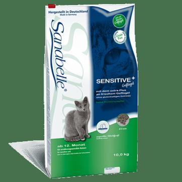Karmy suche dla kota - Sanabelle Adult Sensitive z drobiem