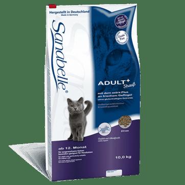 Karmy suche dla kota - Sanabelle Adult Straub - ze strusiem