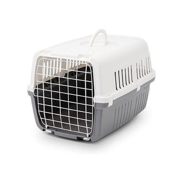 Transportery, sprzęt podróżny - Savic transporter dla kota szary 48 x 32 x 28cm