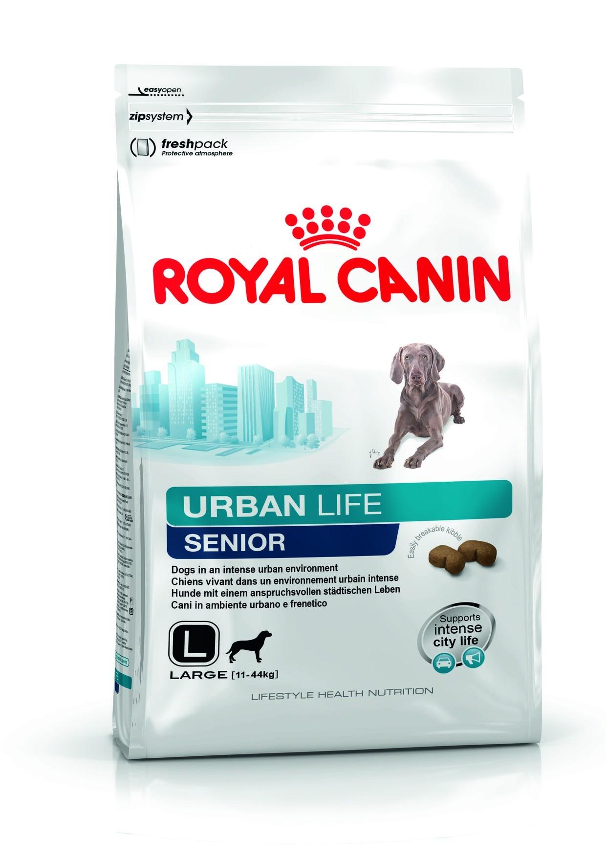 Karmy suche dla psa - Royal Canin Urban Life Senior Large Dog
