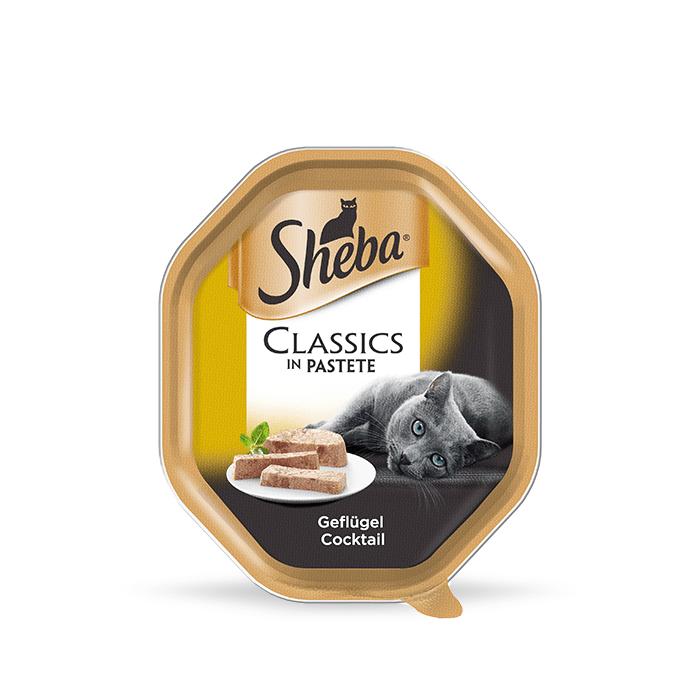 Karmy mokre dla kota - Sheba Classics in Pastete 12 x 85g