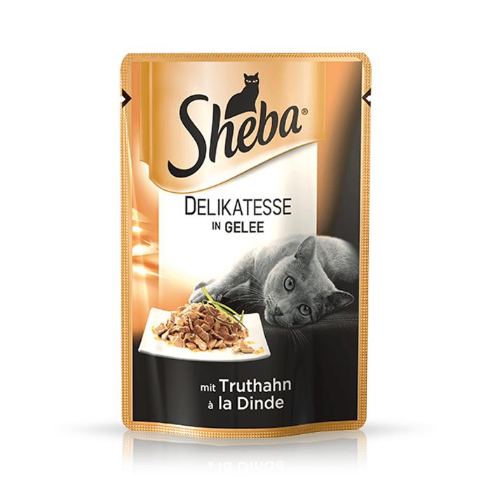 Karmy mokre dla kota - Sheba Delikatesse w galaretce 12 x 85g