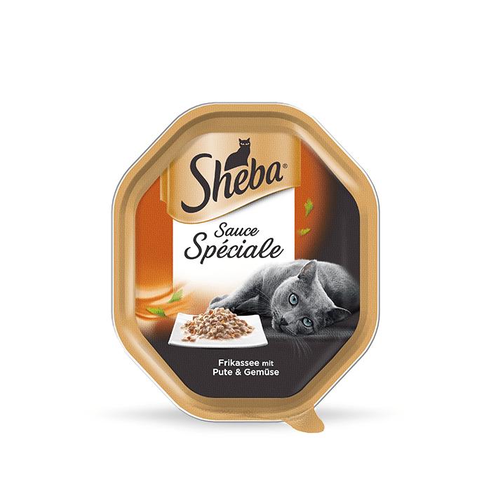Karmy mokre dla kota - Sheba Frykas Sauce Speciale tacka 12 x 85g