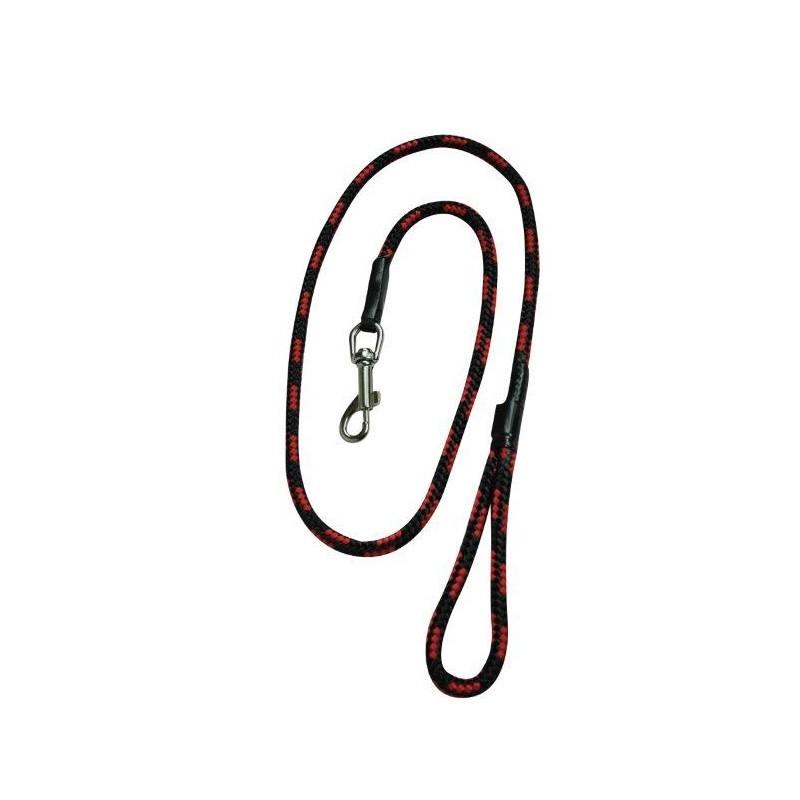 Chaba Smycz linka czarno czerwona