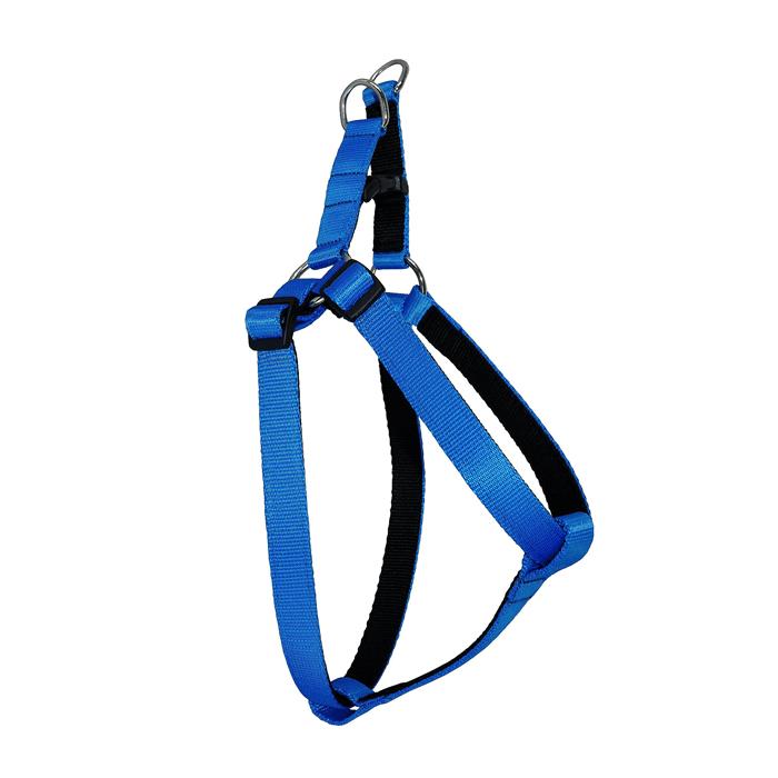 Chaba Szelki regulowane Strong czarno niebieskie