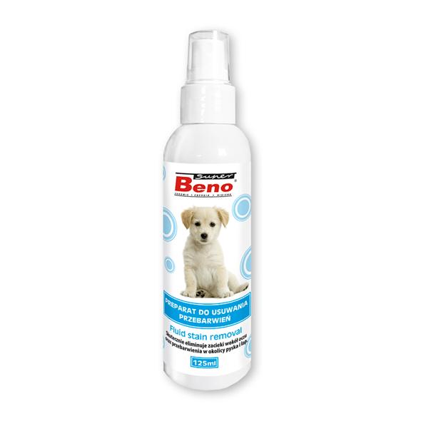 Higiena, pielęgnacja sierści - Super Beno Płyn do usuwania przebarwień 125ml
