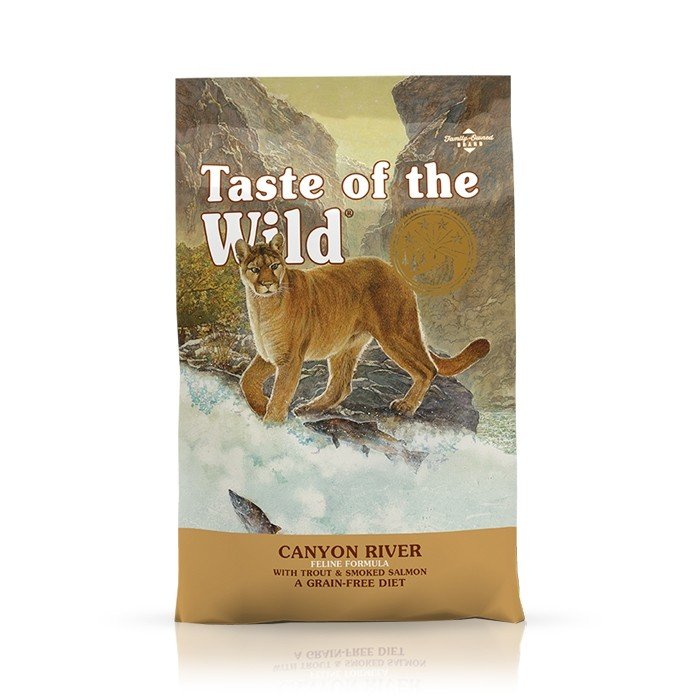 Karmy suche dla kota - Taste of the Wild Canyon River Feline