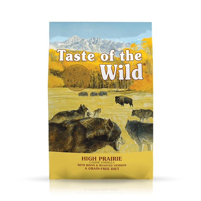 Karmy suche dla psa - Taste of the Wild High Prairie