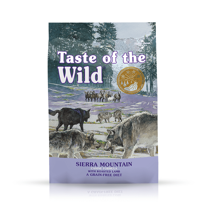 Karmy suche dla psa - Taste of the Wild Sierra Mountain