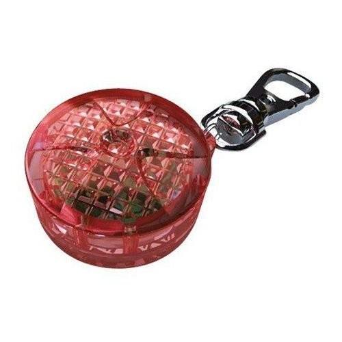 Trixie Zawieszka świecąca odblaskowa czerwona 2,5 cm