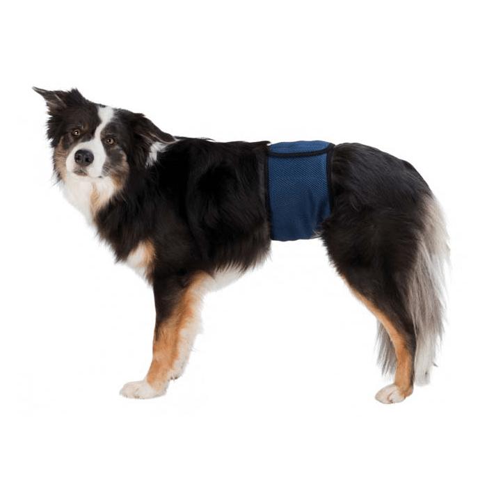 Produkty higieniczne - Trixie Pampas dla psa granatowy M 45-55cm