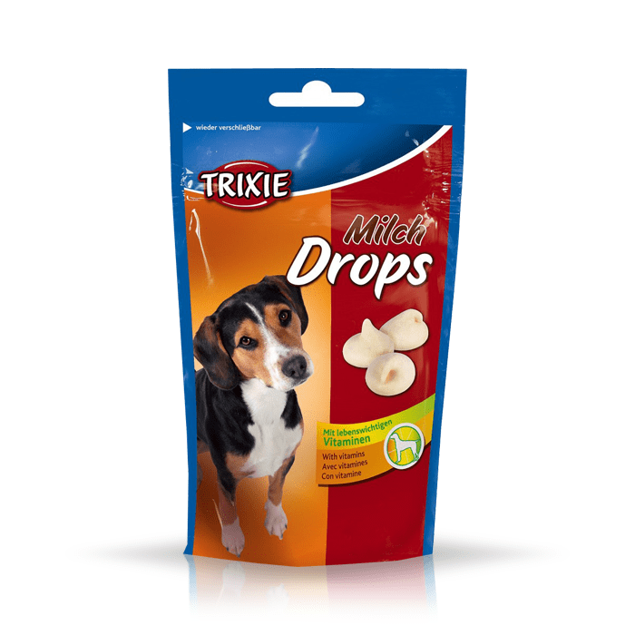 Przysmaki dla psa - Trixie Dropsy mleczne 75g
