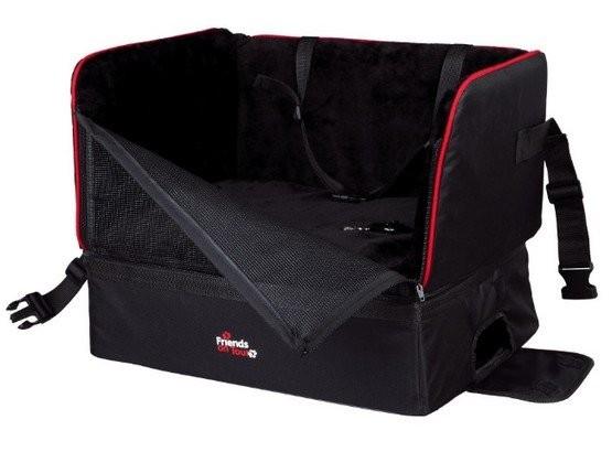 Transportery, sprzęt podróżny - Trixie Fotel Samochodowy dla psa 45 x 38 x 37cm