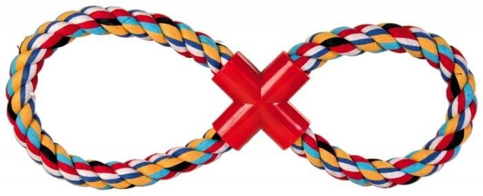 Zabawki - Trixie Gryzak ósemka 200g 35cm