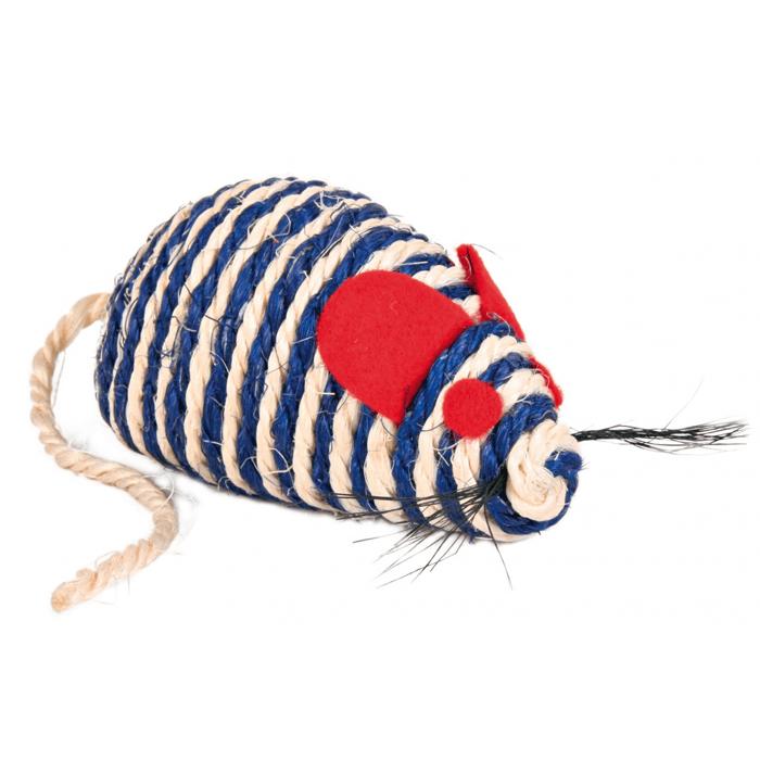 Zabawki - Trixie Mysz z sizalu 10cm